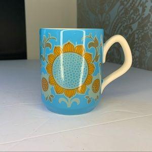 Vintage Flower Paisley Folk Art Print Coffee Mug